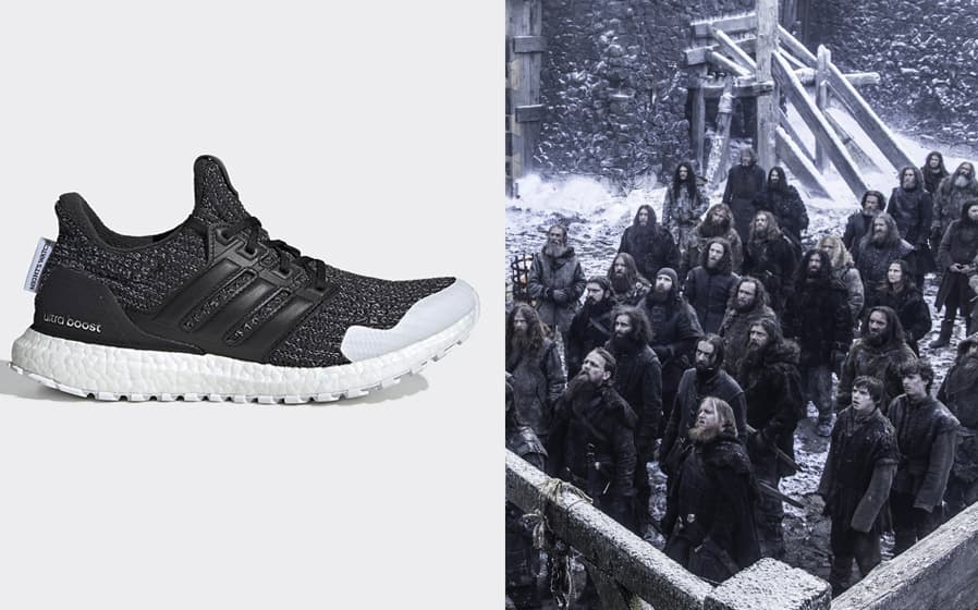 "Adidas Ultra Boost ""The Night's Watch"""