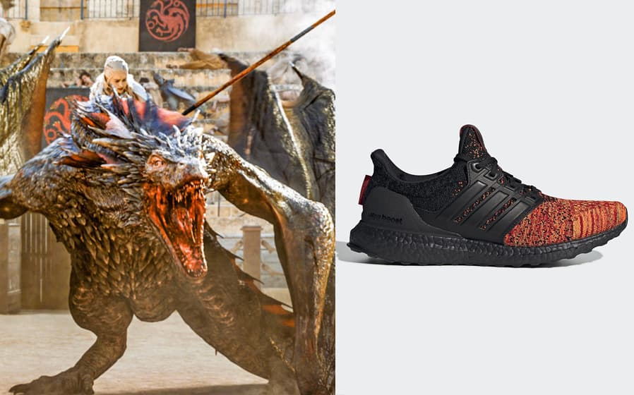 "Adidas Ultra Boost ""House Targaryen"""