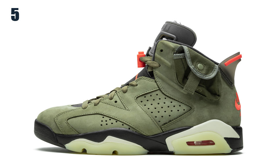 Маратонки Travis Scott x Air Jordan 6 Retro