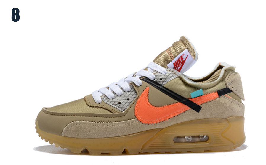 Спортни обувки Off-White x Nike Air Max 90 Desert Ore