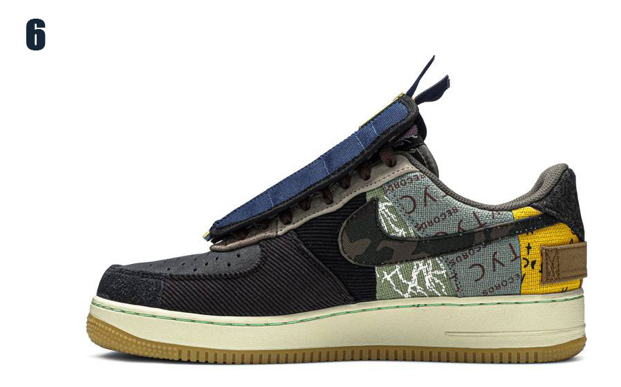 Спортни обувки Travis Scott x Nike Air Force 1 Low Cactus Jack
