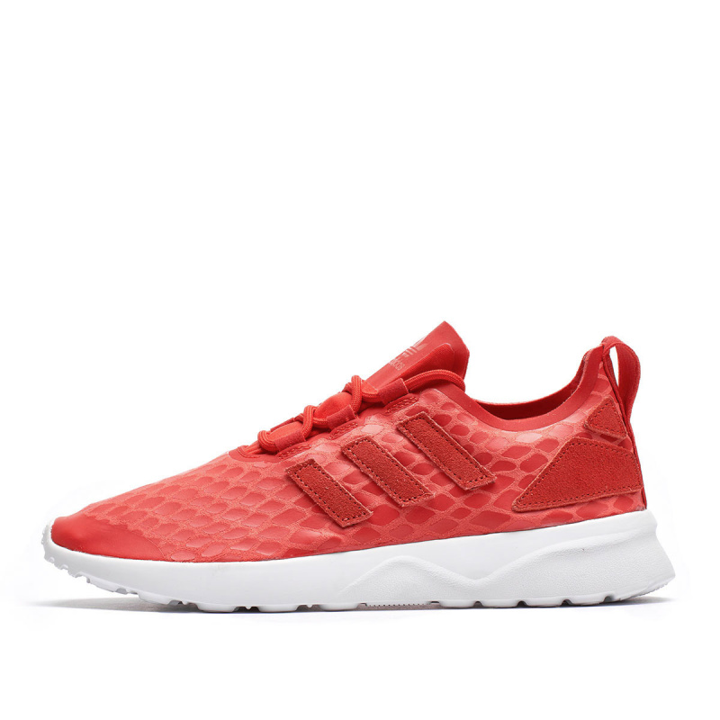 online store 782fe 5cfd4 Adidas ZX Flux ADV Verve W red