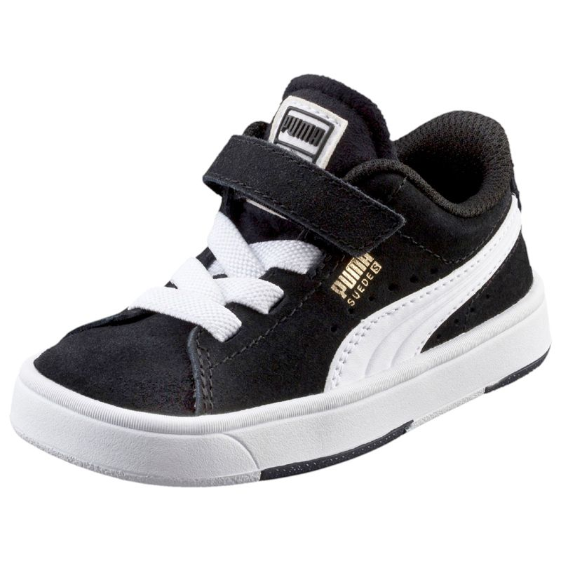 Puma Suede S V Kids black