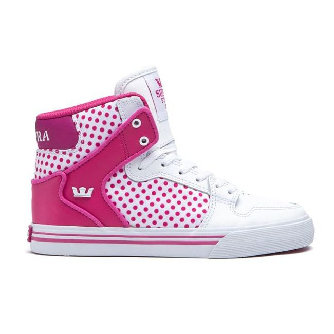Supra Vaider white/pink