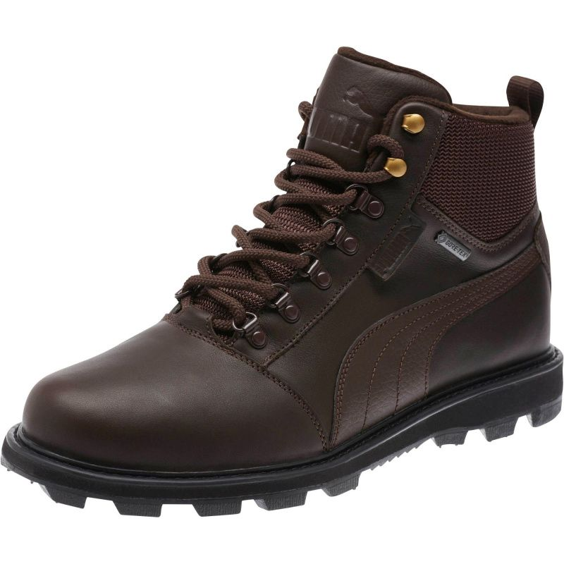 Puma Tatau Fur Boot Gore-Tex brown