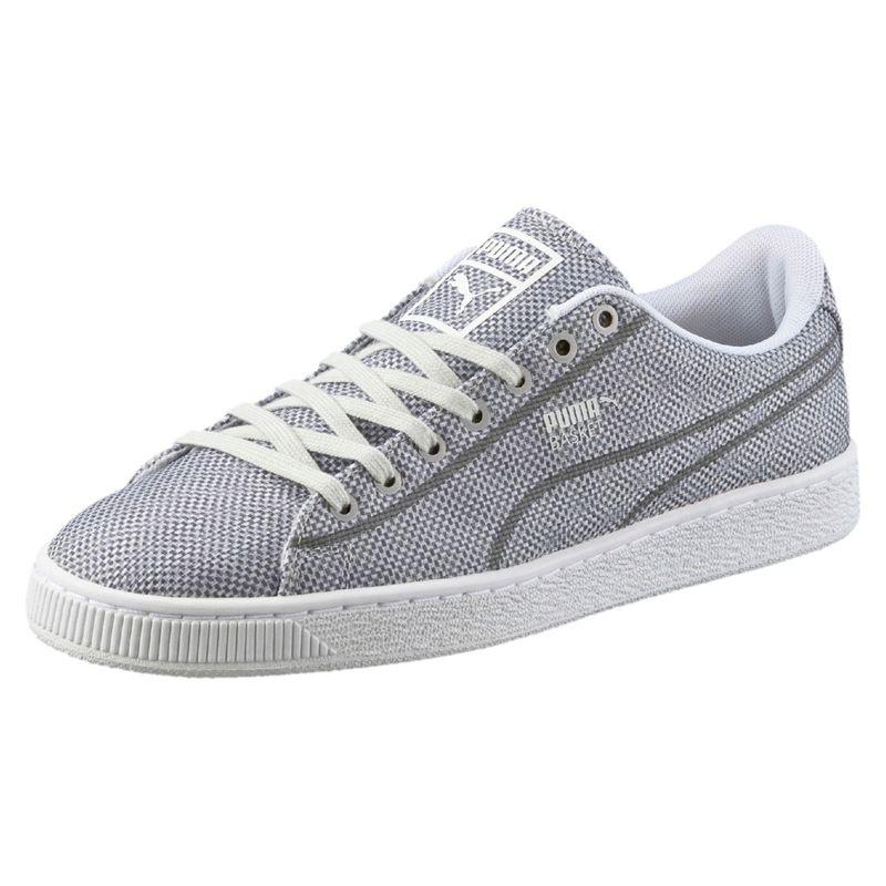 Puma Basket Classic Woven grey