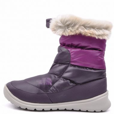 The North Face Nuptse Bootie 4 purple