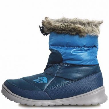 The North Face Nuptse Bootie 4 blue