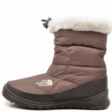 The North Face Nuptse Bootie 4 brown