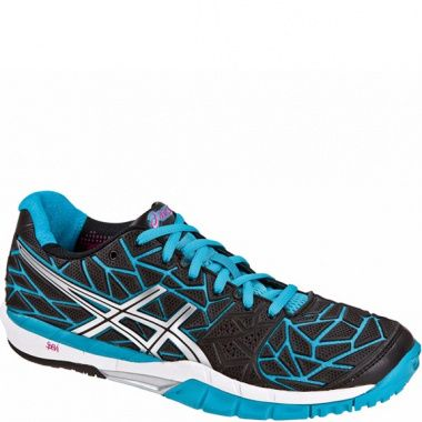 Asics Gel-Fireblast black/blue