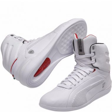 Puma Gigante Leather Ferrari white