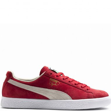 Puma Clyde red